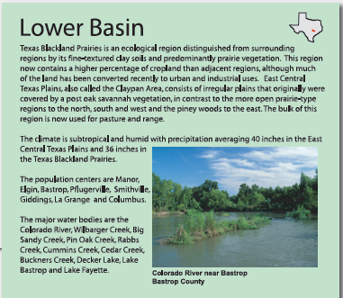 Lower Colorado Basin (Lake Pflugerville)