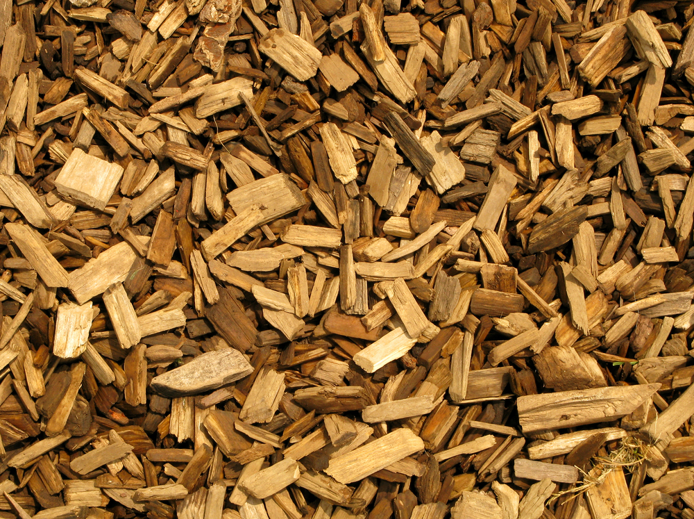 wood-chipping